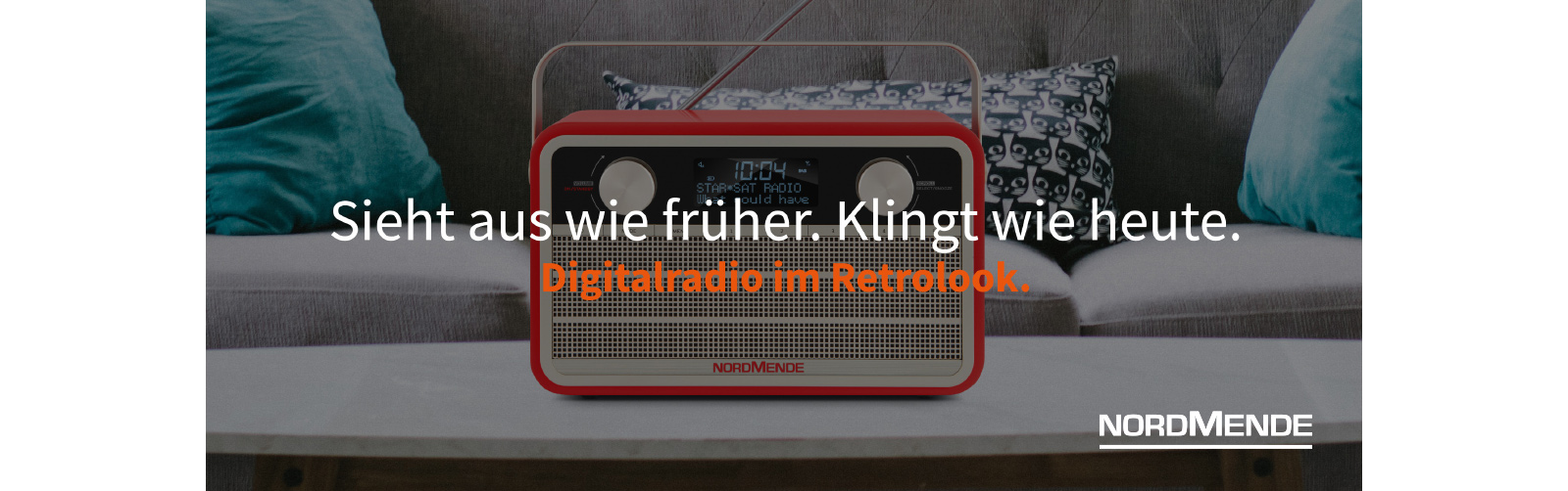 Nordmende - Digitalradio im Retrolook.