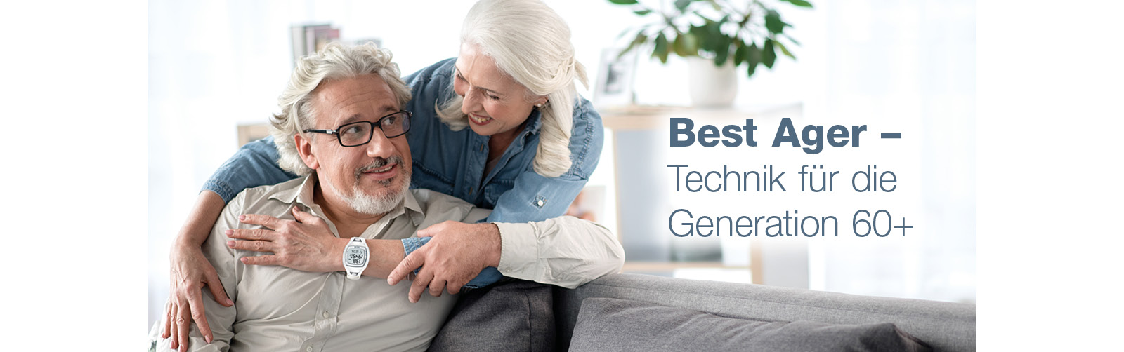 Technik für die Generation 60plus