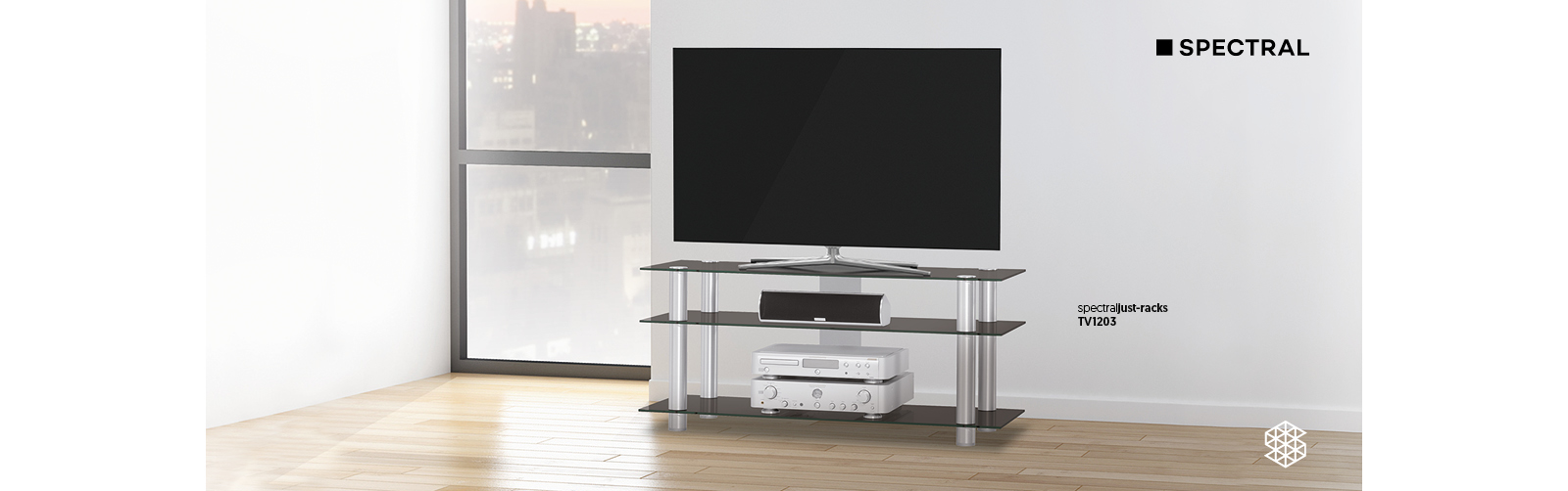 Spectral just-racks TV1203