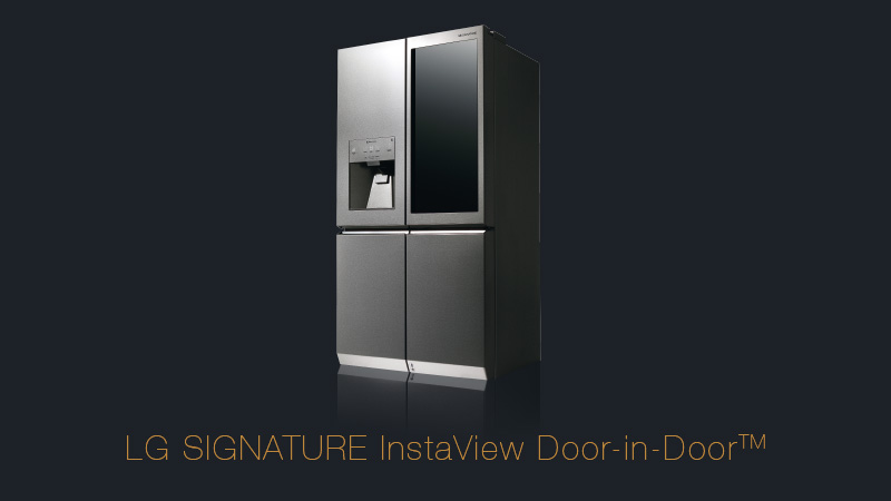 LG Signature InstaView Door-in-Door