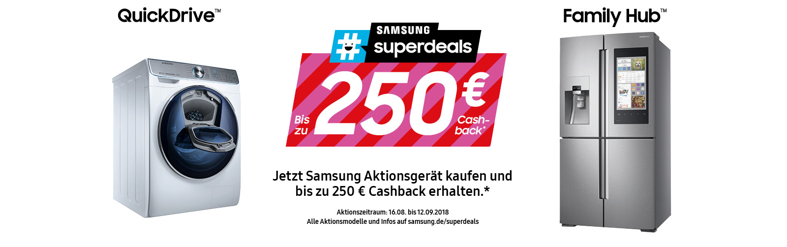 Samsung Superdeals bei EP: