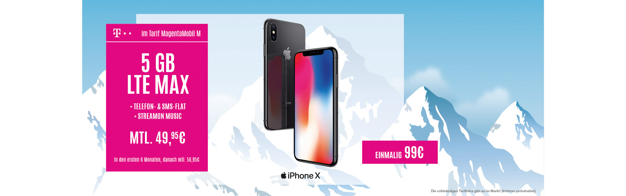 iPhone X ab 99€ bei EP:Deuber